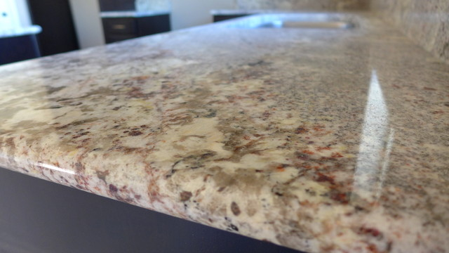 White Springs Granite Kitchen Modern Kitchen Salt