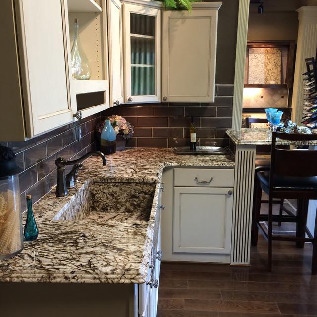 White Tiger Farmhouse Kitchen