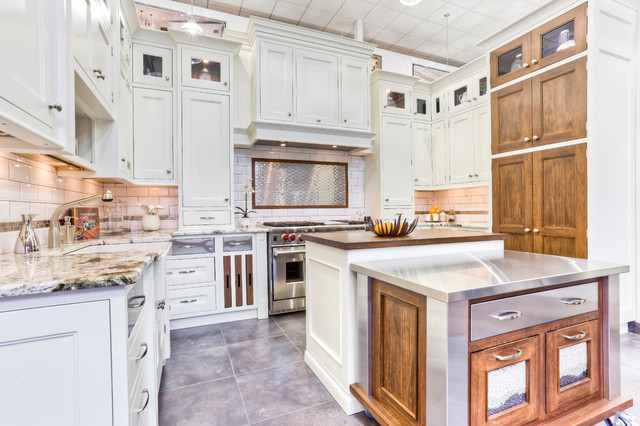 White transitional inset kitchen for White inset kitchen cabinets