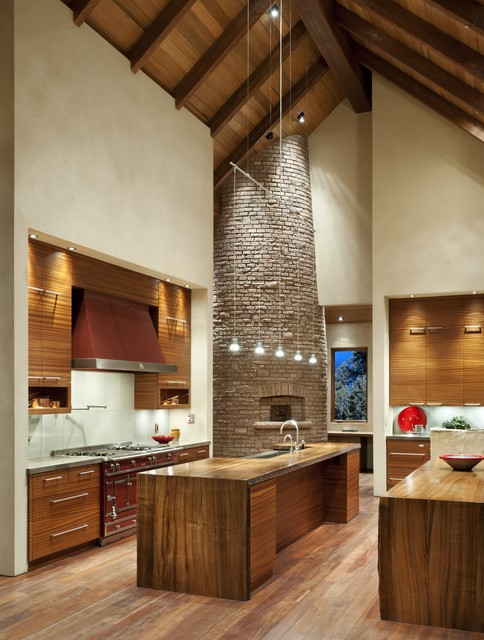 Whitefish Residence contemporary-kitchen