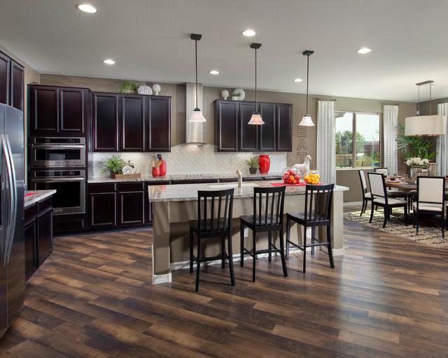 Whitmore Plan at The Meadows at Camino A Lago   Phoenix, AZ transitional-kitchen