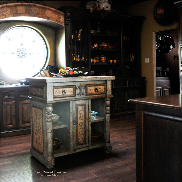 Who loves old world furniture made just for their space for Old world furniture