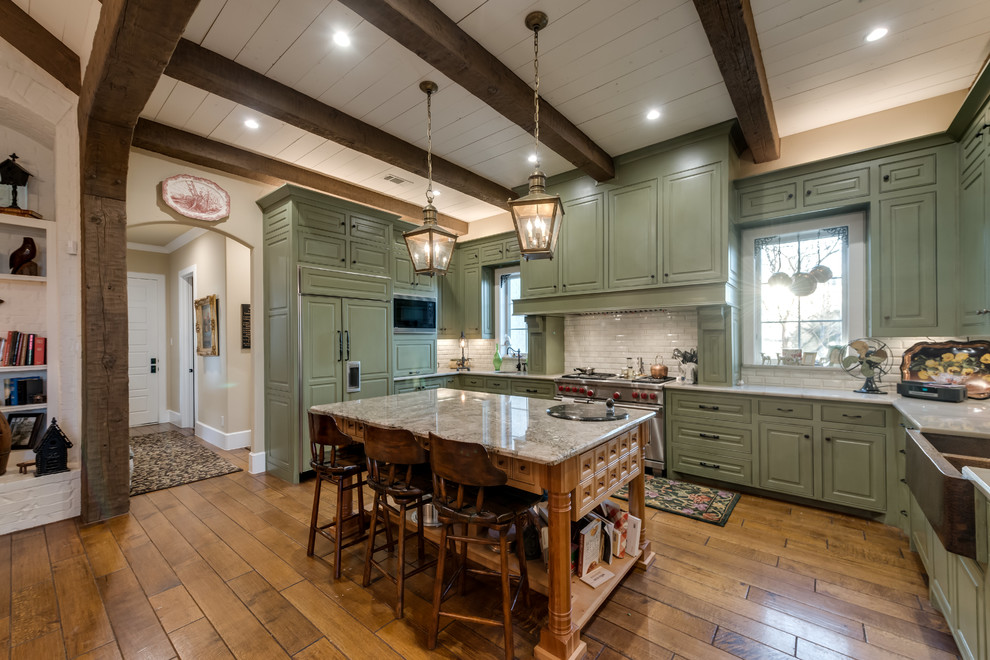 Whole Home Remodel Tour - Traditional - Kitchen - Dallas ...