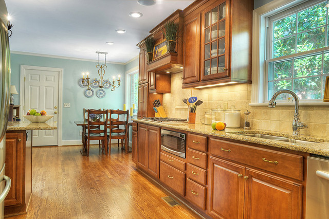 Whole Home Renovation traditional-kitchen