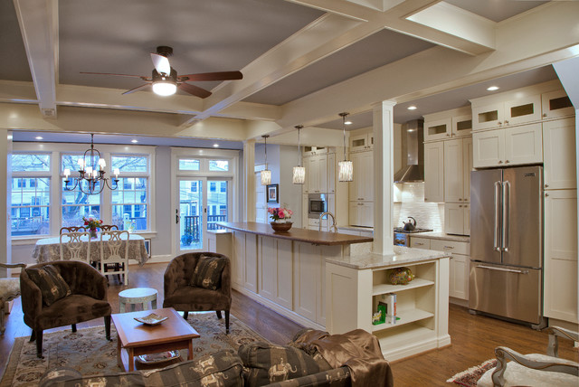 Whole house remodel washington dc traditional for Kitchen design kingston