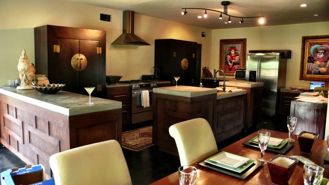 Wichita Residence traditional-kitchen