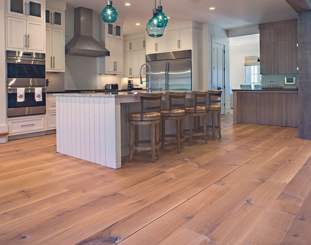 Nashville tennessee wide plank white oak contemporary for Tennessee wood flooring