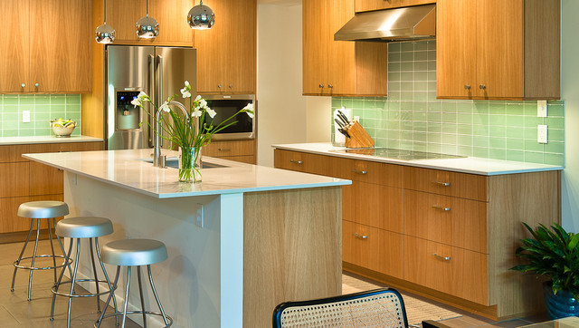Wide View Of Kitchen From Dining Area Modern Kitchen Orlando By Monar