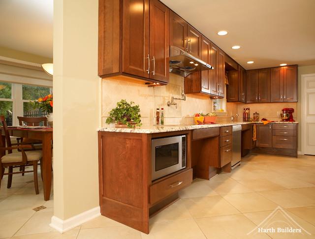 Widened Doors and Walkways kitchen