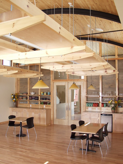 Wild Sage Cohousing Modern Kitchen Denver By