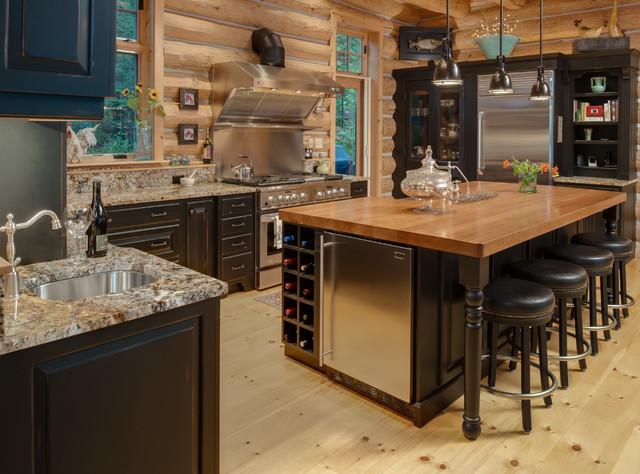 Wilderness Softened rustic-kitchen