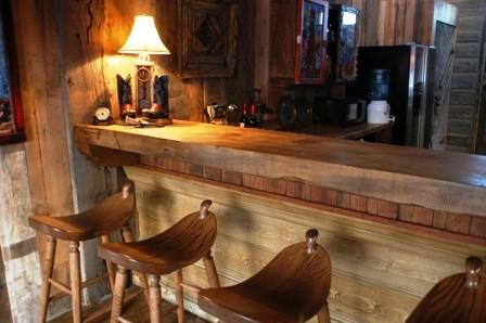 Wildhorse Ranch Bunkhouse kitchen