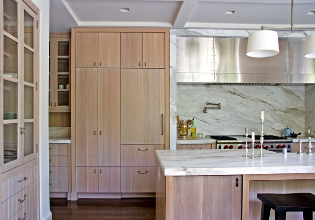 William Hefner Architecture Interiors Landscape Transitional Kitchen