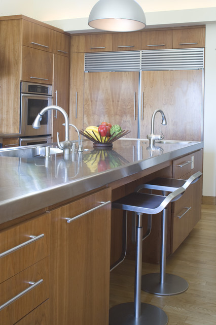 William Hefner Architecture Interiors & Landscape contemporary kitchen
