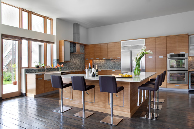 L Shaped Kitchen With Island Designs Captivating L Shaped Kitchen Island  Houzz Design Ideas