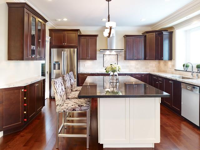 Willingdon Residence transitional-kitchen
