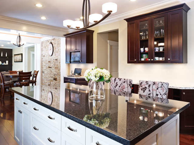Willingdon Residence transitional-kitchen
