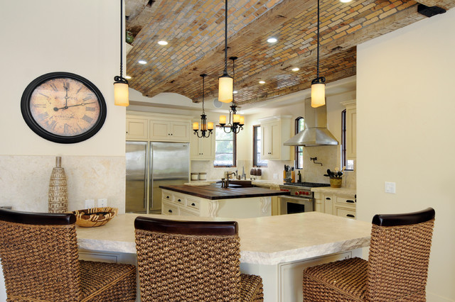 Willow Glen Spanish Style House - mediterranean - kitchen - san ...