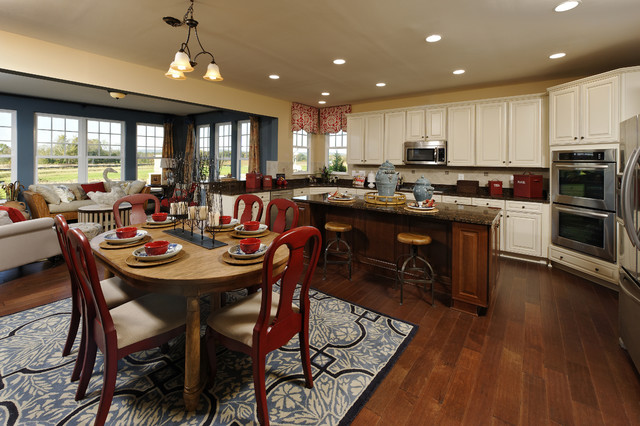 Willowsford Ashford Model Contemporary Kitchen Dc Metro By Beazer Homes Maryland