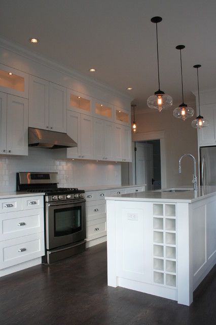 Wilmer Residence Traditional Kitchen Vancouver By Spot Design Co