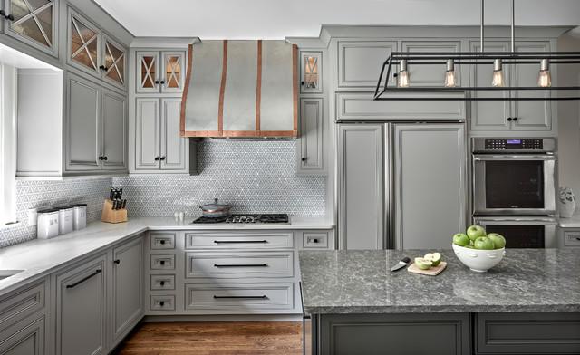 Wilmette Renovation Kitchen