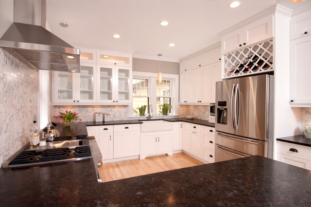 Wilmette Il Traditional Kitchen Chicago By Ddk Kitchen Design Group