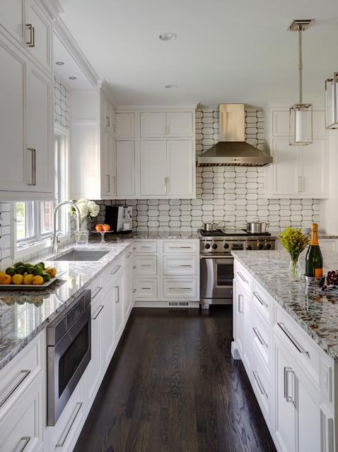 Wilmette Illinois Transitional Kitchen Chicago By Ddk Kitchen Design Group