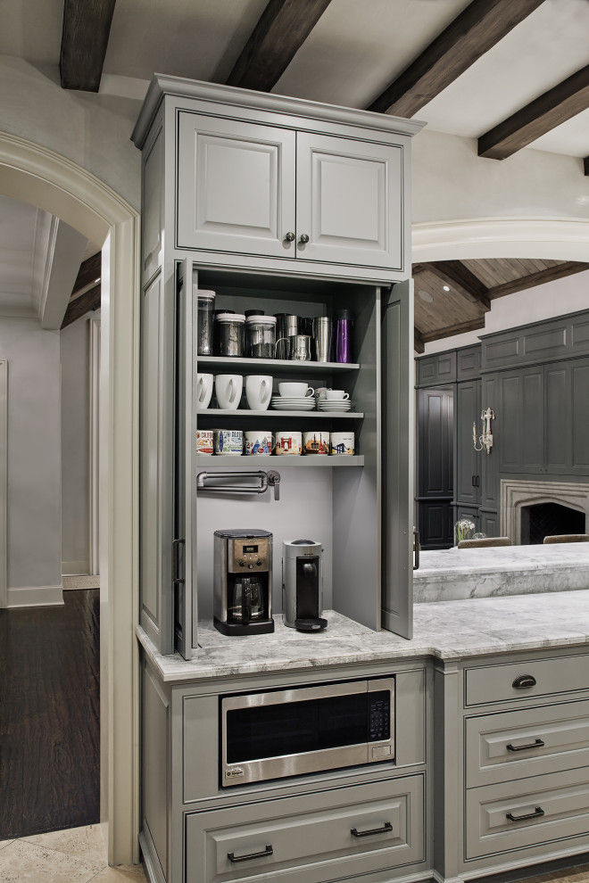 Wilmington Court Coffee Bar Open Transitional Kitchen Houston By Paul N Brow Architect Llc Houzz