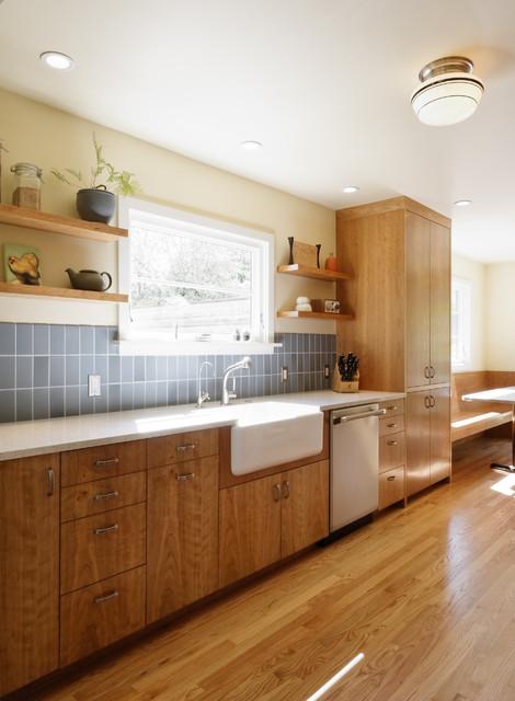 Wilshire Kitchen, Portland (Photo: Matt Niebuhr) transitional-kitchen