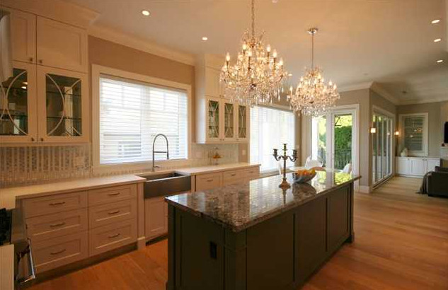 Wiltshire Shaughnessy residence contemporary-kitchen