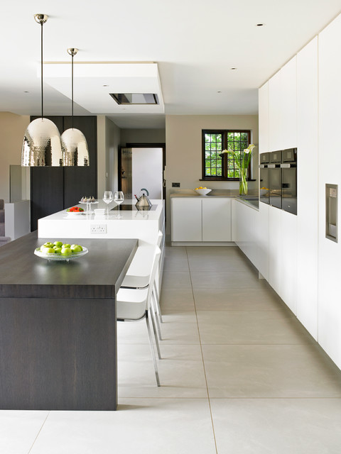 Wimbledon Bespoke Contemporary Kitchen contemporary-kitchen