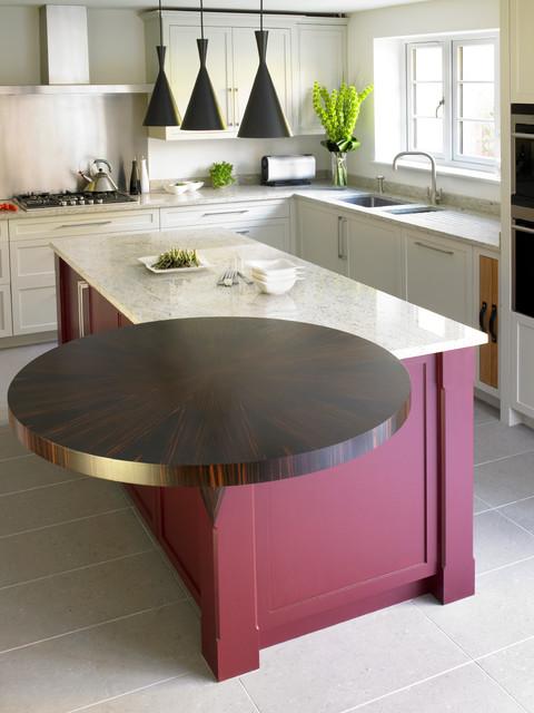 Wimbledon Contemporary Shaker Kitchen Contemporary Kitchen London By Brayer Design