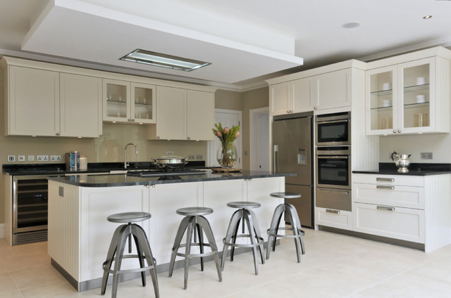 Wimbledon family home traditional kitchen london by chantel wimbledon family home traditional kitchen mozeypictures Images