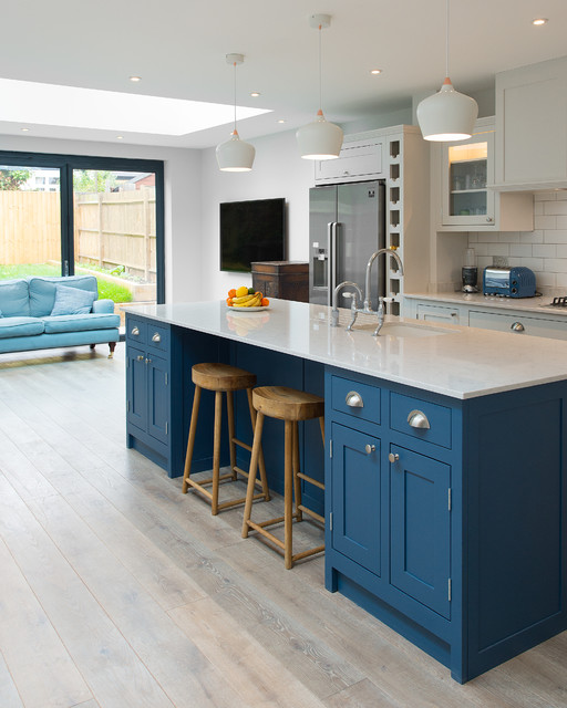 Wimbledon London Transitional Kitchen London By The Shaker Kitchen Company
