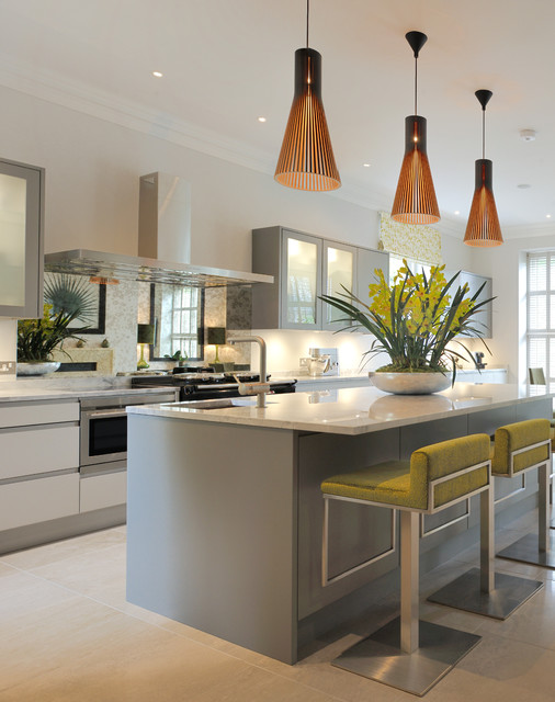 wimbledon village contemporary kitchen london by clare williams interior design