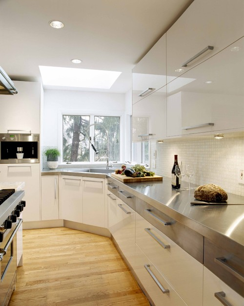 contemporary kitchen How to Choose a Kitchen Counter