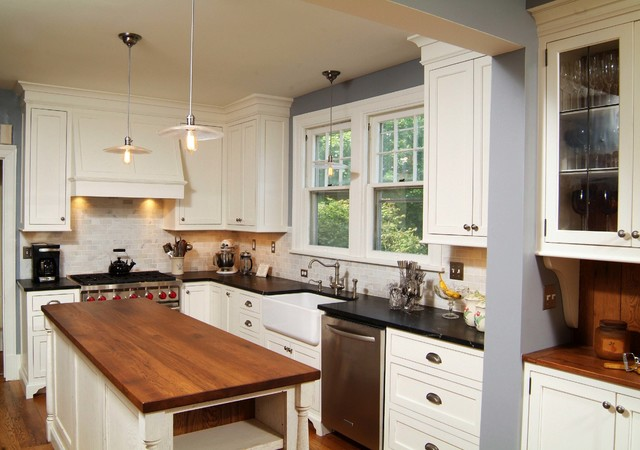 Winchester Virginia Kitchen Remodel - Farmhouse - Kitchen - dc metro - by Shenandoah Furniture ...