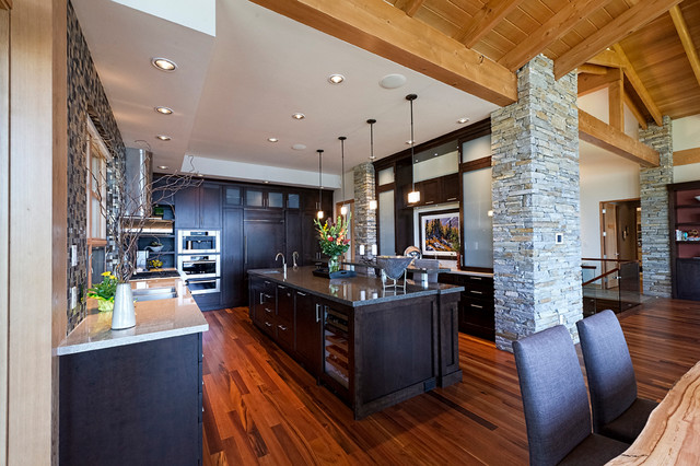 Windermere Lakeside Residence - Contemporary - Kitchen - Vancouver - by Site Lines Architecture Inc.