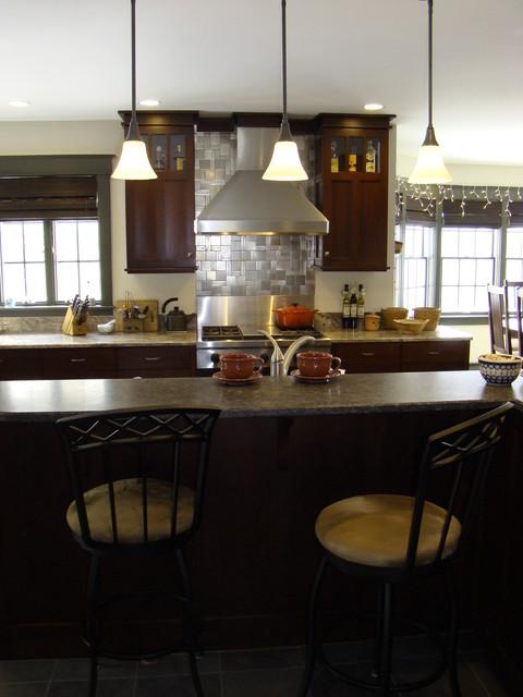 Windham kitchen estilo craftsman cocina portland - Instaladores de cocinas ...