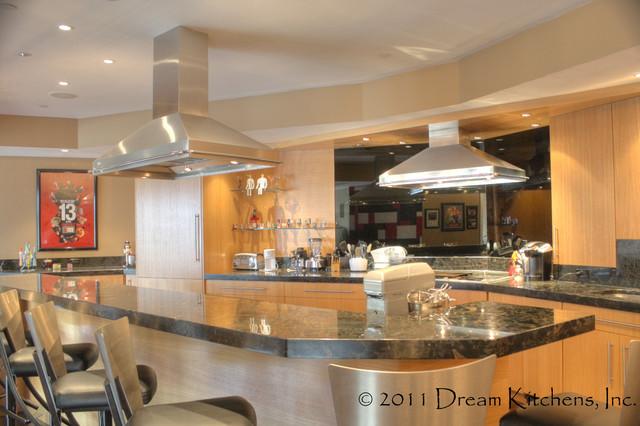 Windham, NH Rec room kitchen contemporary-kitchen