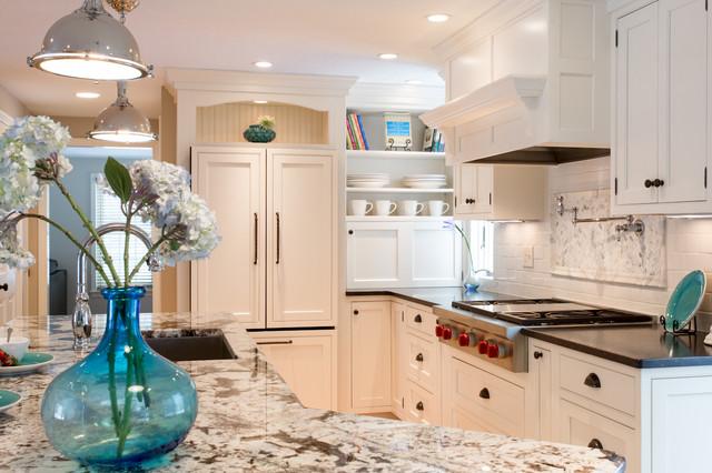 Windham, NH Renovation traditional-kitchen