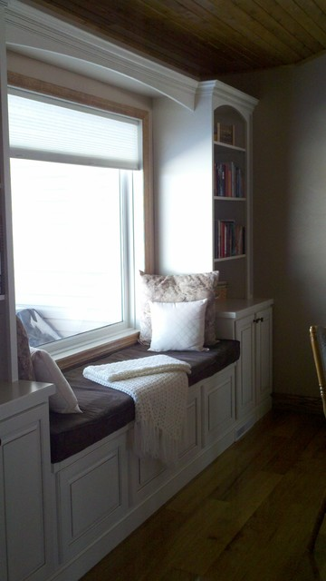 window seat - Traditional - Kitchen - Other - by Lowe's of Latrobe