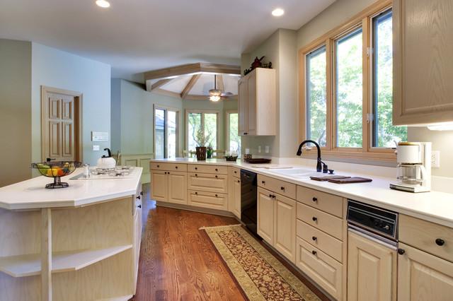 Window Styles & Designs traditional-kitchen