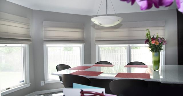window treatments contemporary kitchen philadelphia by unique
