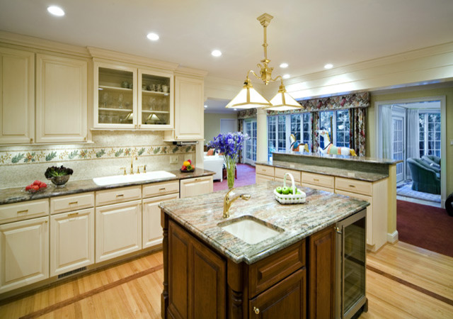 Windowless kitchen traditional kitchen dc metro by for Windowless bathroom design ideas