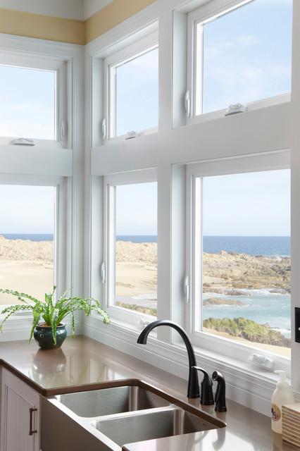 Windows traditional-kitchen