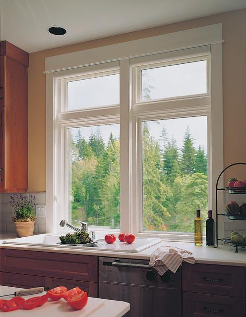 Windows & Doors traditional-kitchen