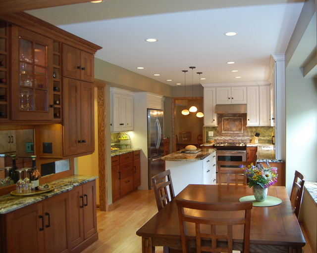 Windslow Drive Mission Inspired Kitchen Traditional