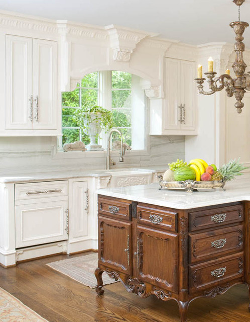 Windsor Kitchen - Traditional - Kitchen - dallas - by Isler Homes