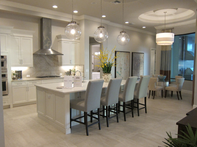Windsor Model Twin Eagle Naples FL Transitional Kitchen Miami By